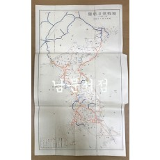 조선철도략도 1934년판